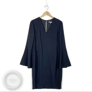 CLASSIQUES ENTIER Long Bell Sleeve Shift Dress